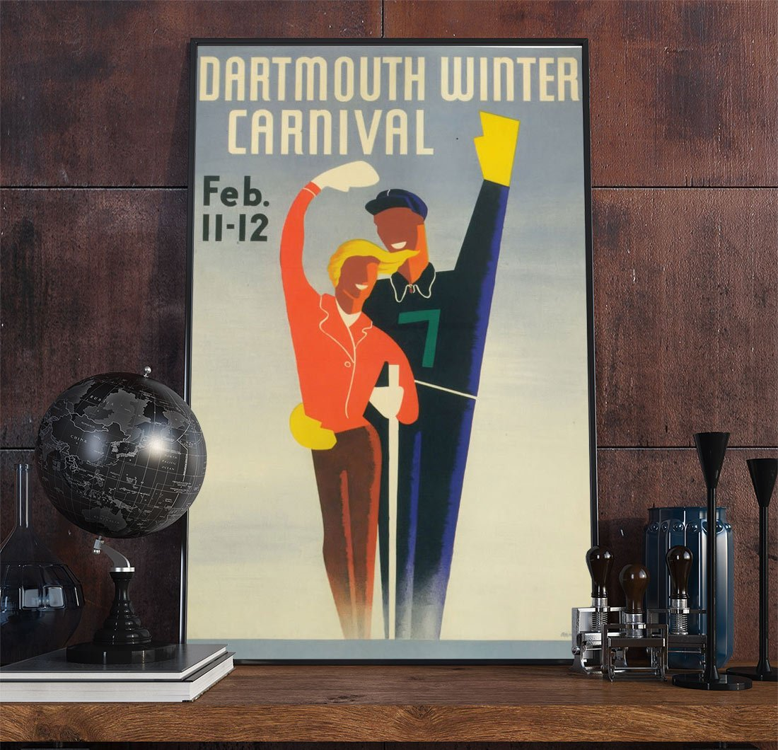 22leisure Art Deco Poster