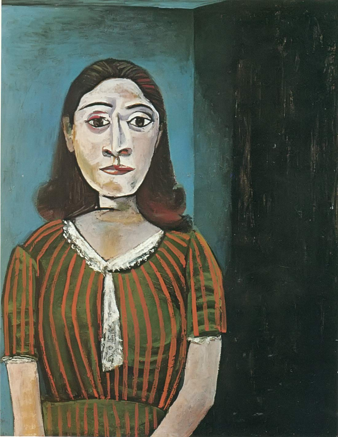 Portrait Of Dora Maar 1942 Pablo Picasso