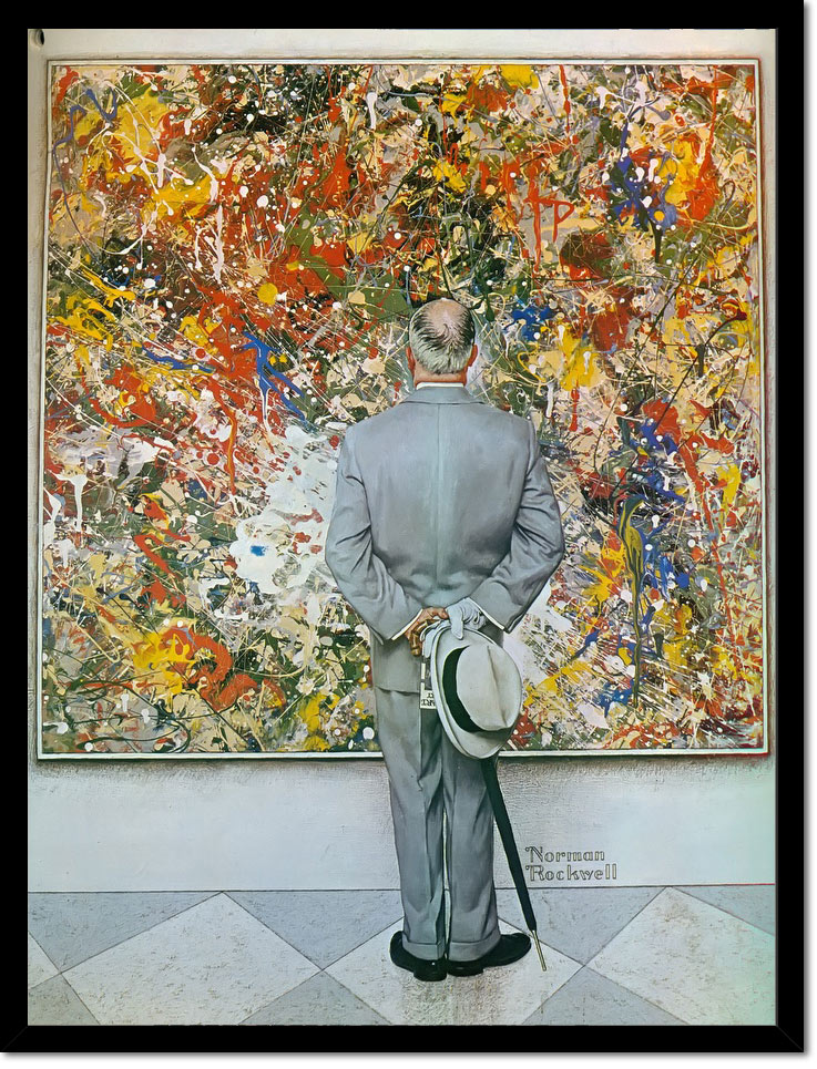 Abstract And Concrete by Norman Rockwell
