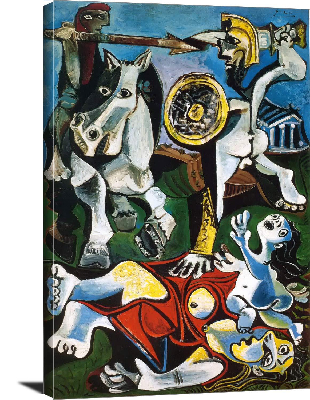 Rape Of The Sabine Women 63 Pablo Picasso