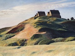 Corn Hill (Truro Cape Cod) by Edward Hopper