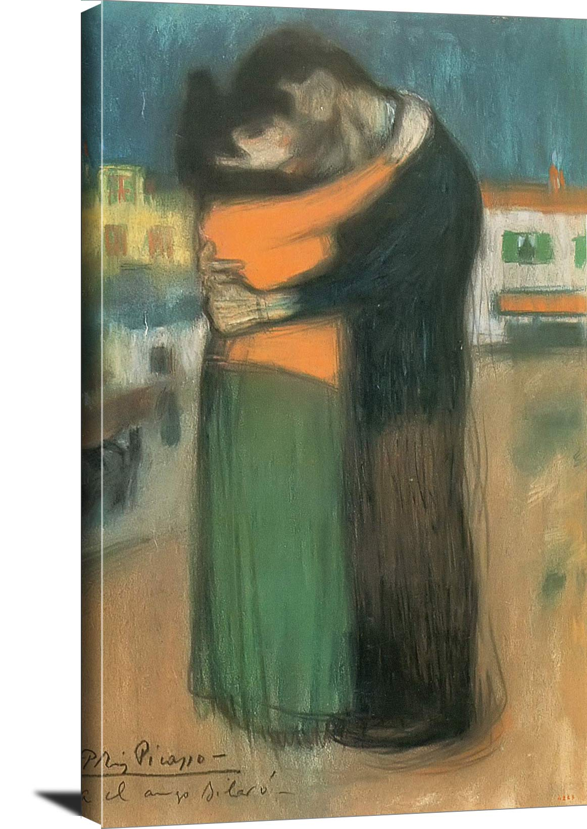 Embrace In The Street Pablo Picasso