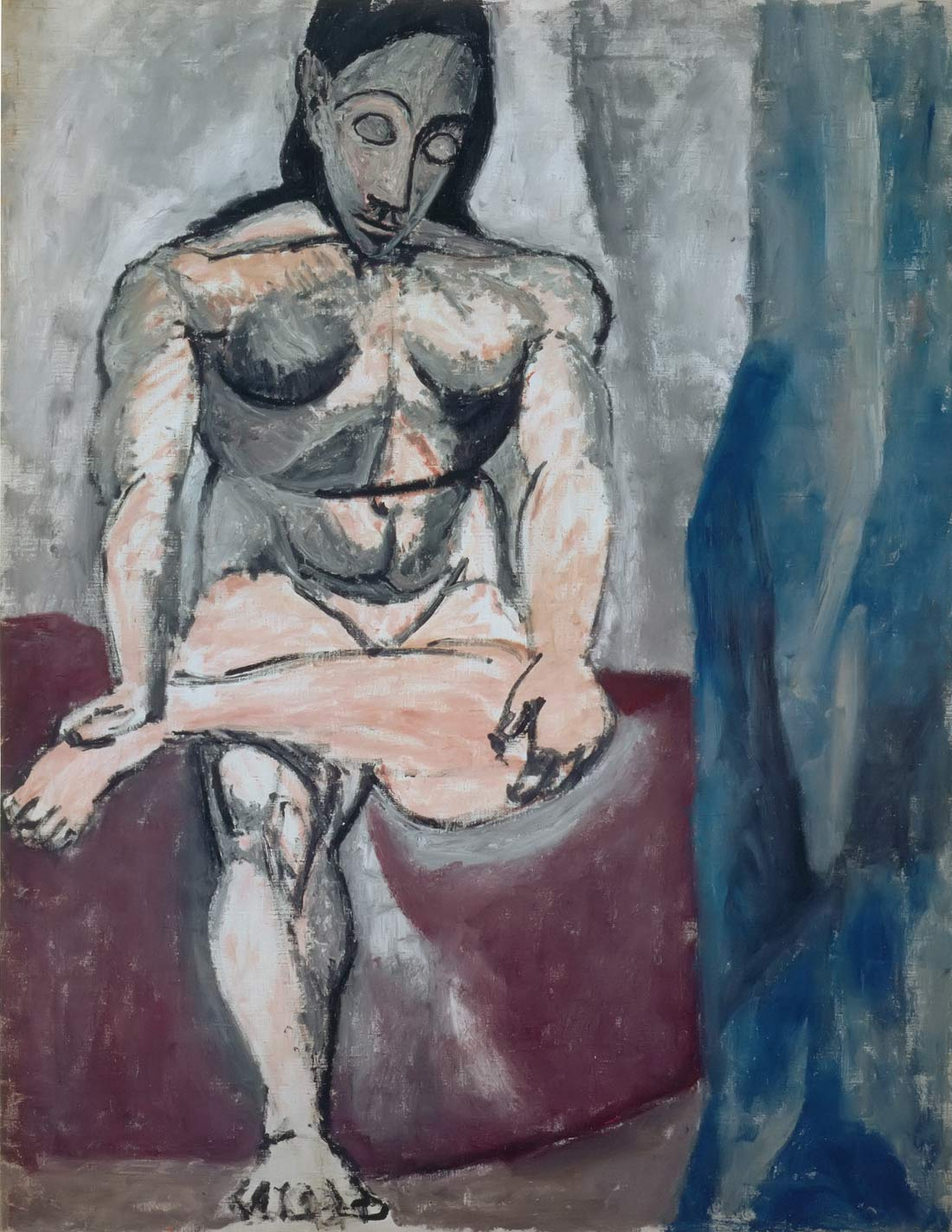 Seated Nude Pablo Picasso