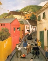 The Street 87 by Botero