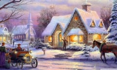 Memories Of Christmas By Thomas Kinkade