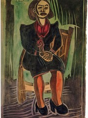 Sitting Model William H Johnson