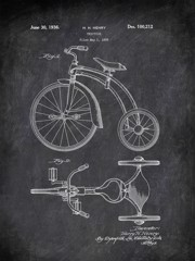 Tricycle H H Henry 1936 Games by Patent