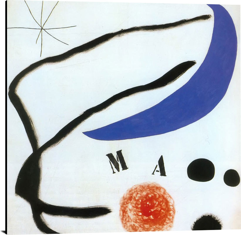 Poem I 17 5 1968 by Joan Miro