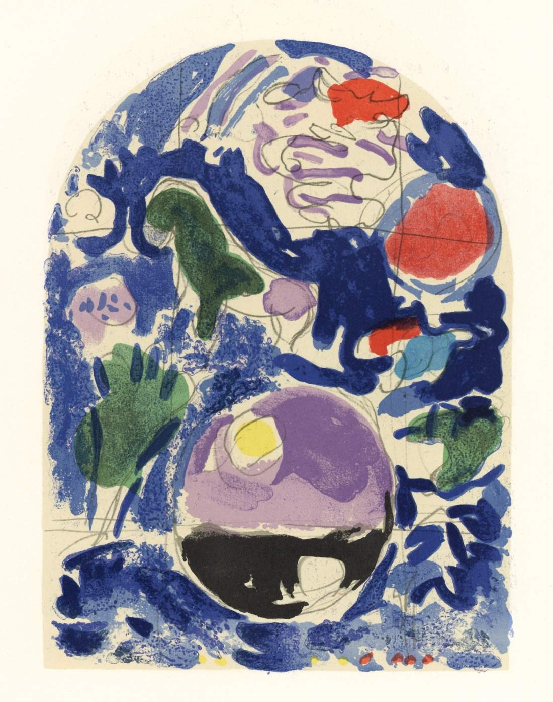 Tribe Of Simeon2 Marc Chagall