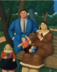 In The Park 2 by Botero