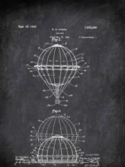 Balloon H Upson 1923 Activities by Patent