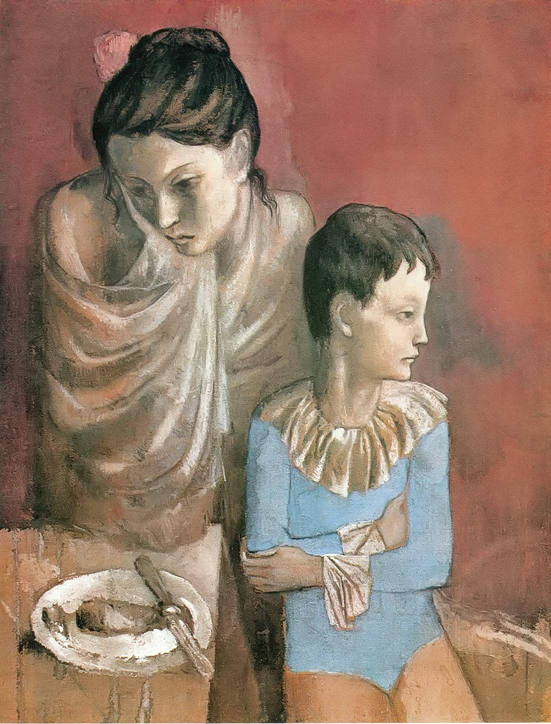 Sorrowful Mother And Child Pablo Picasso