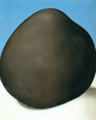 Black Rock With Blue Iii by Georgia O Keeffe