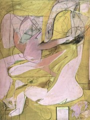 Pink Angels by Willem De Kooning