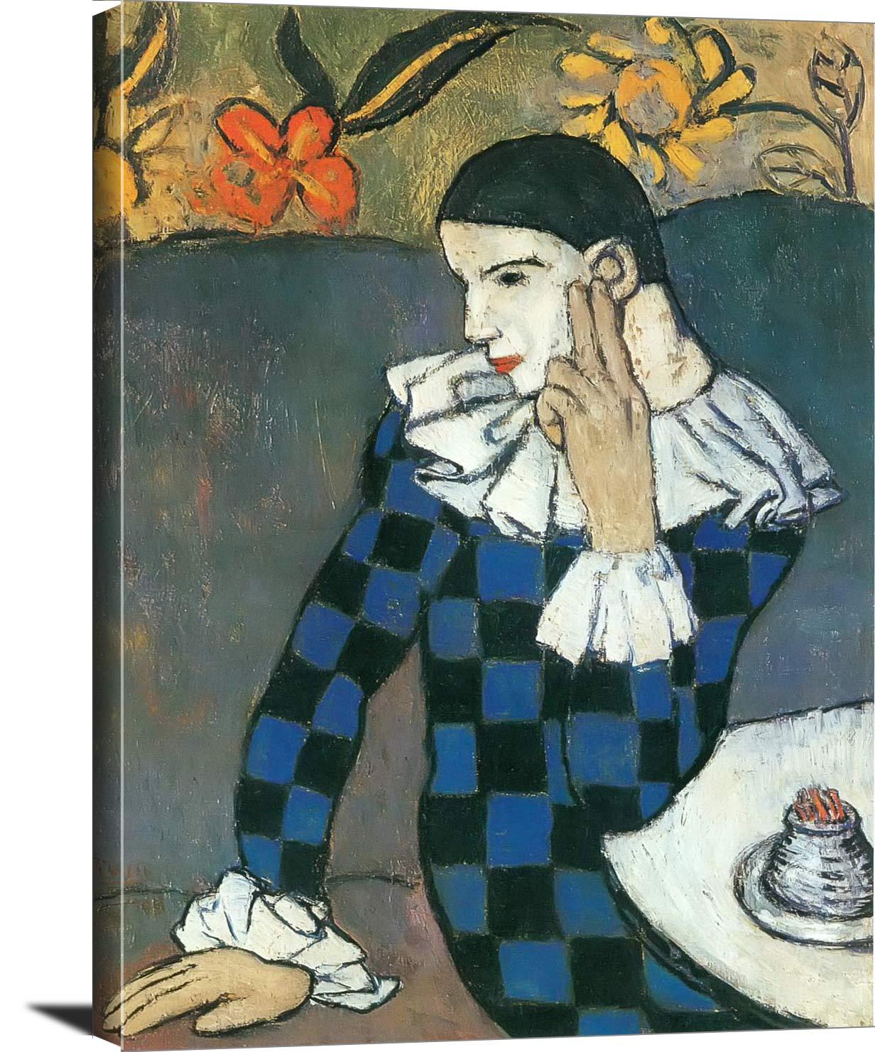 Harlequin Pablo Picasso