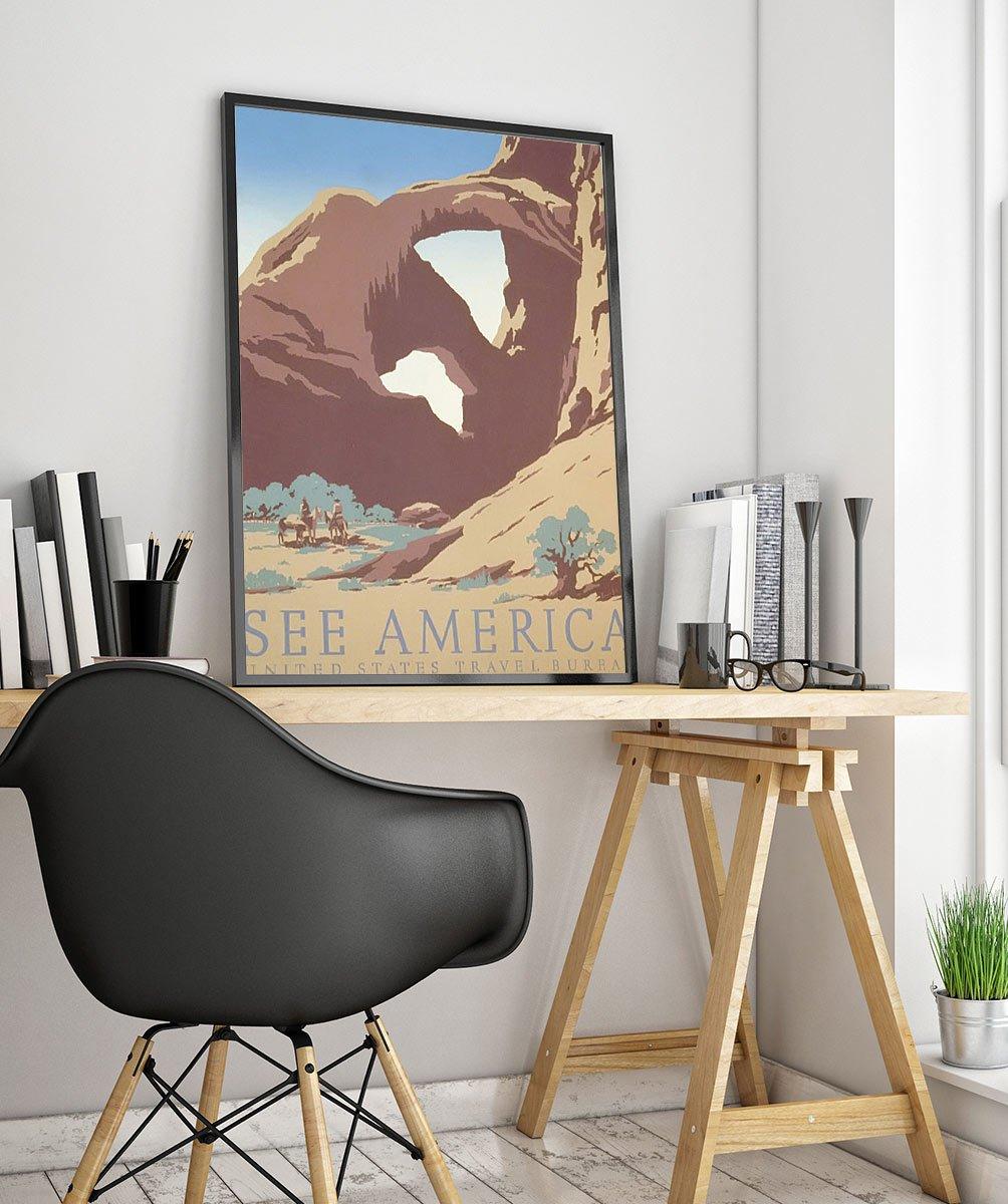 Wpaamerica Vintage Advertisement Poster