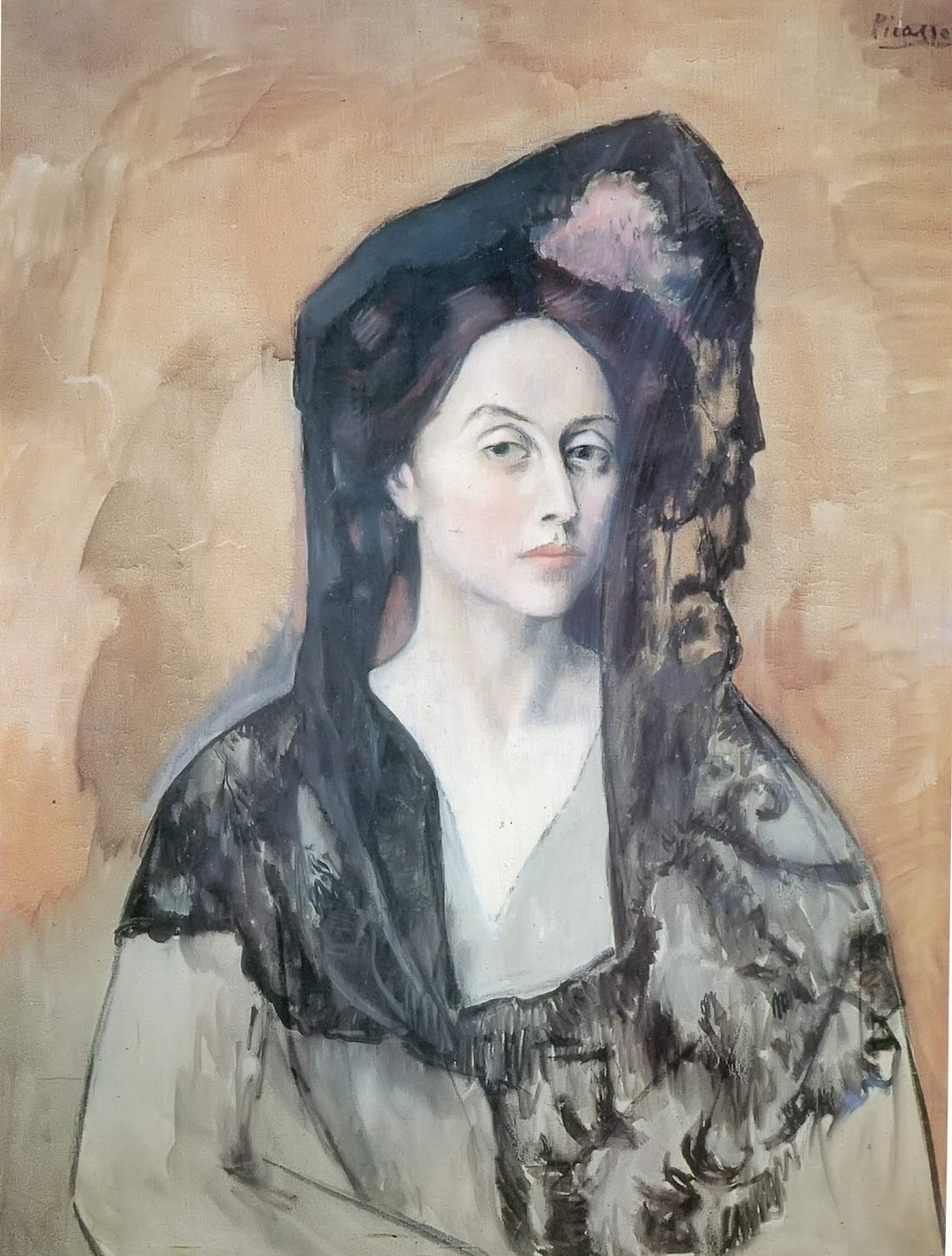 Portrait Of Bendetta Canals Pablo Picasso