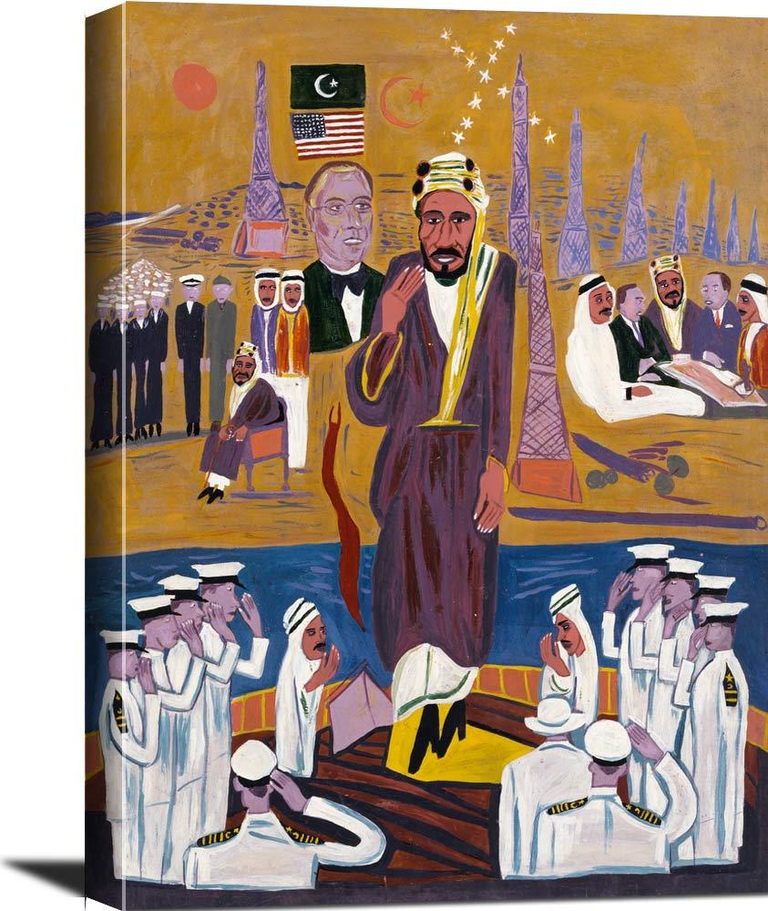 King Ibn Saud William H Johnson