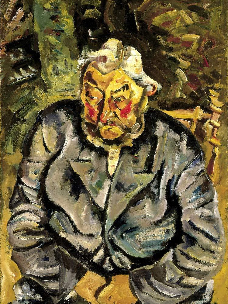 Portrait Of An Elderly Dane William H Johnson