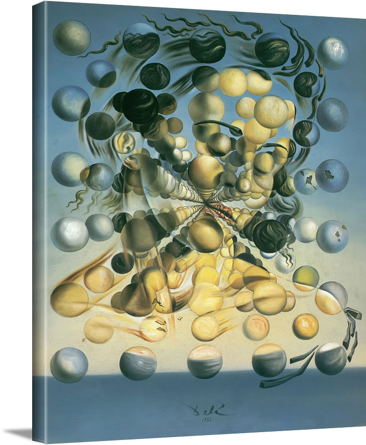 Galatea Of The Spheres by Dali