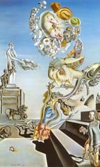 Dismal Sport(The Lugubrious Game) by Dali