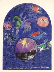 Tribe Of Simeon Marc Chagall