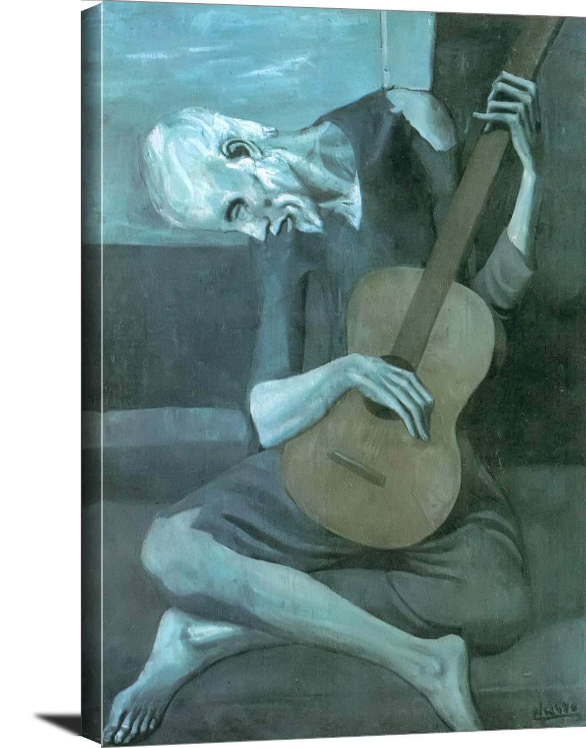 The Old Guitar Player Pablo Picasso