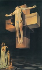 Gala Regarding The Hypercubic Body by Dali