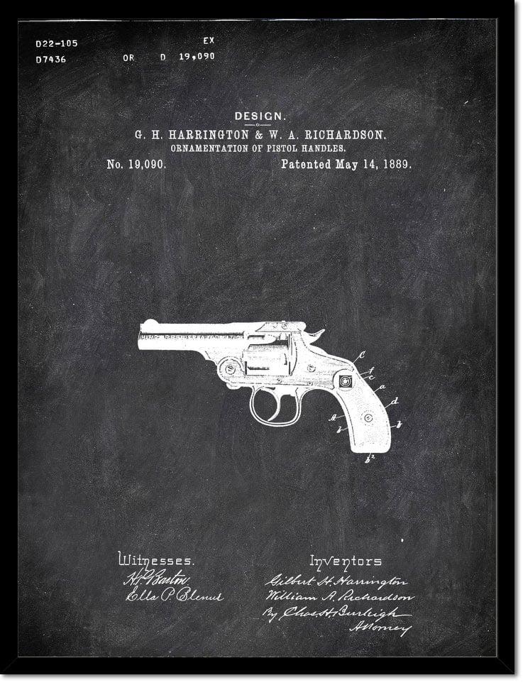 Revolver G H Harrington And W Aichardson Military by Patenta