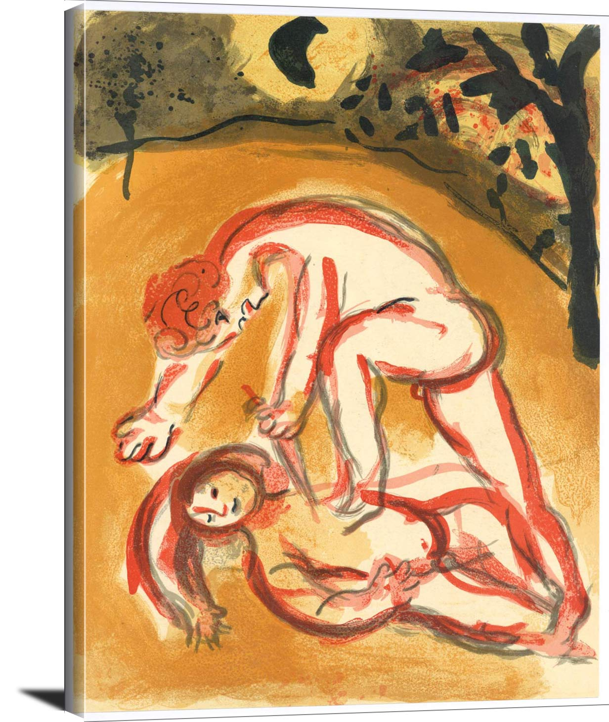 Cain And Abel Marc Chagall