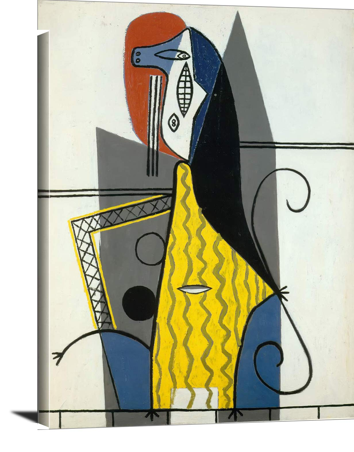 Woman In An Armchair 1927 Pablo Picasso