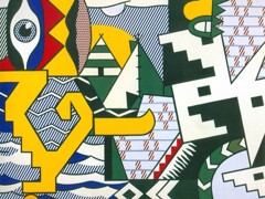 Pow Wow by Roy Lichtenstein
