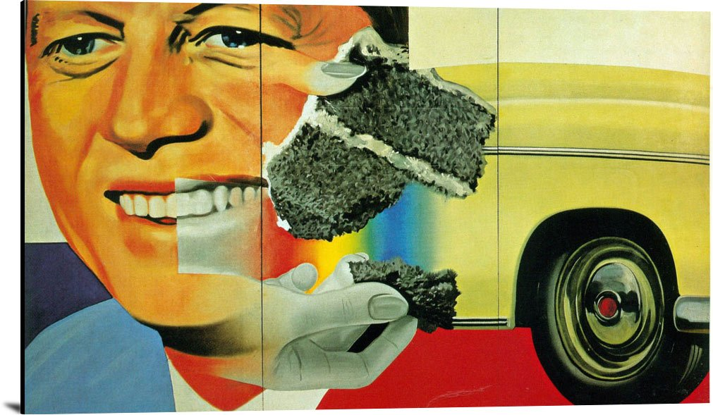 President Elect 1960 61 by James Rosenquist