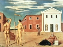 Farewell To The Departing Argonauts by Giorgio De Chirico