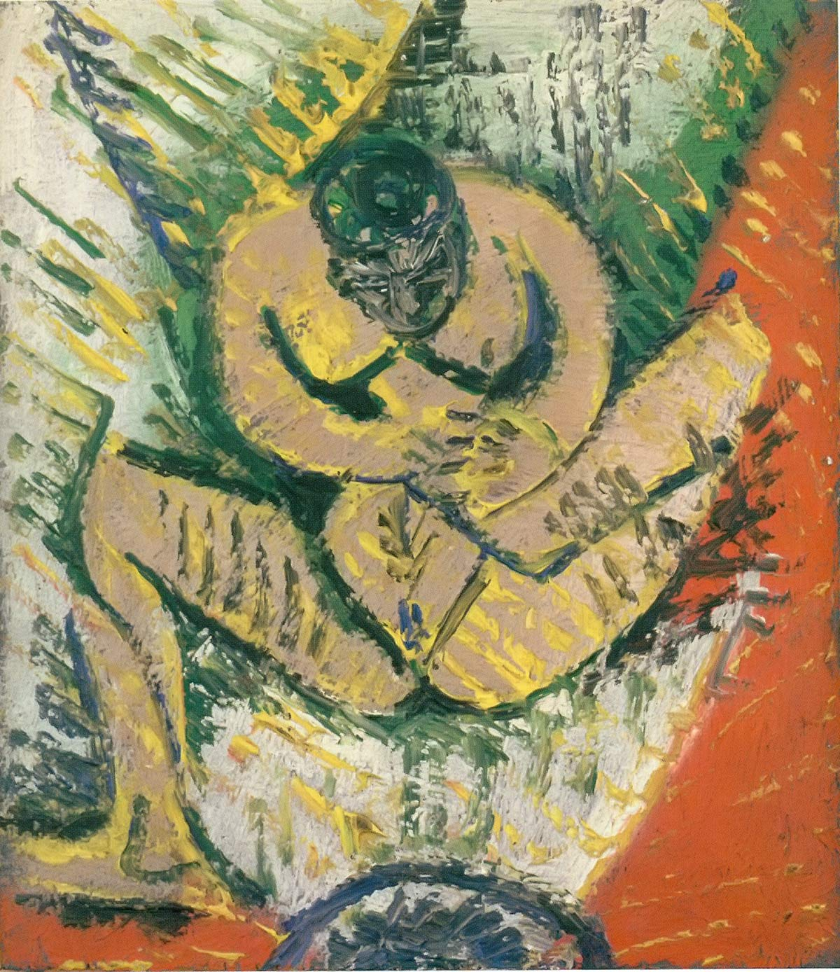 Small Seated Nude Pablo Picasso