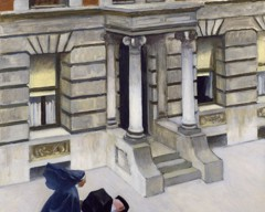 New York Pavements by Edward Hopper