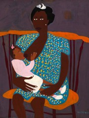 Sis And L'il Sis William H Johnson
