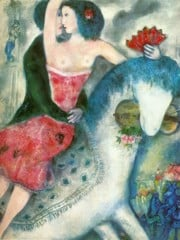 Equestrienne 1931 by Marc Chagall