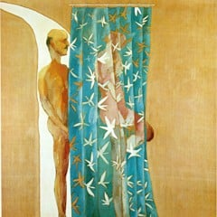 Two Men In A Shower 1963 by David Hockney