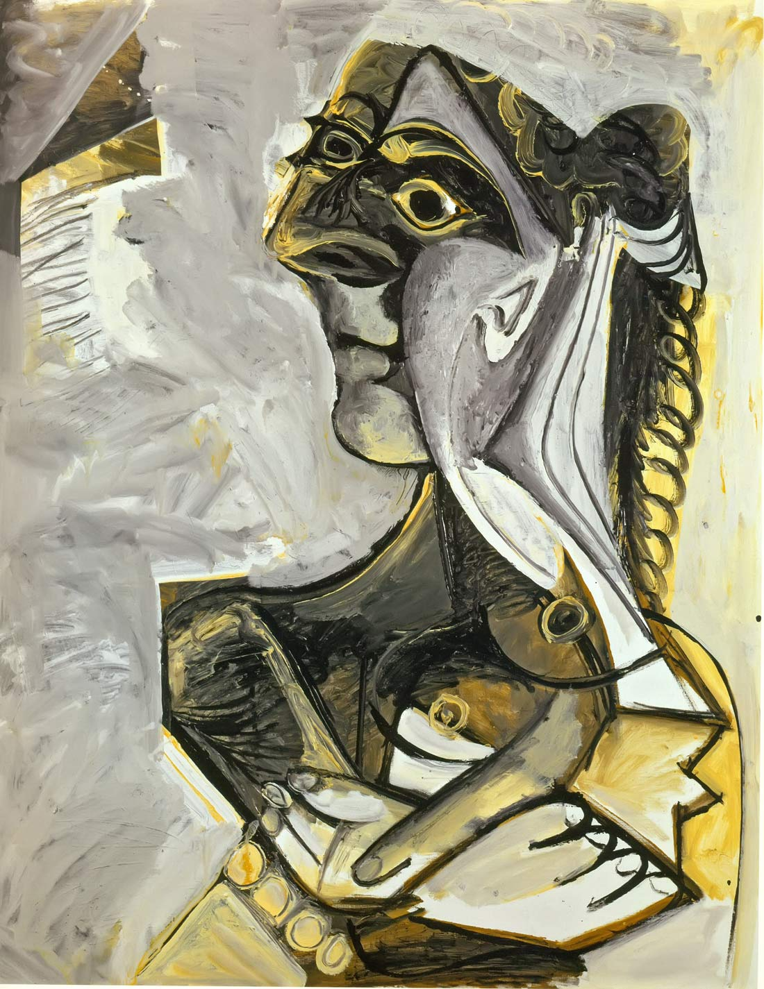 Resting Woman 1971 Pablo Picasso