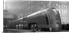 New York Central Train Chicago 1936