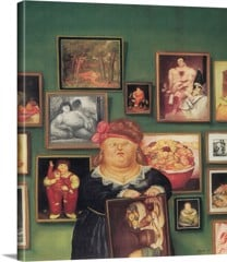 The Collector by Botero