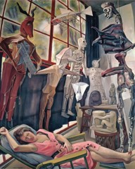 The Artists Studio by Diego Rivera