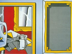 Painting Still Life And Stretcher Frame by Roy Lichtenstein