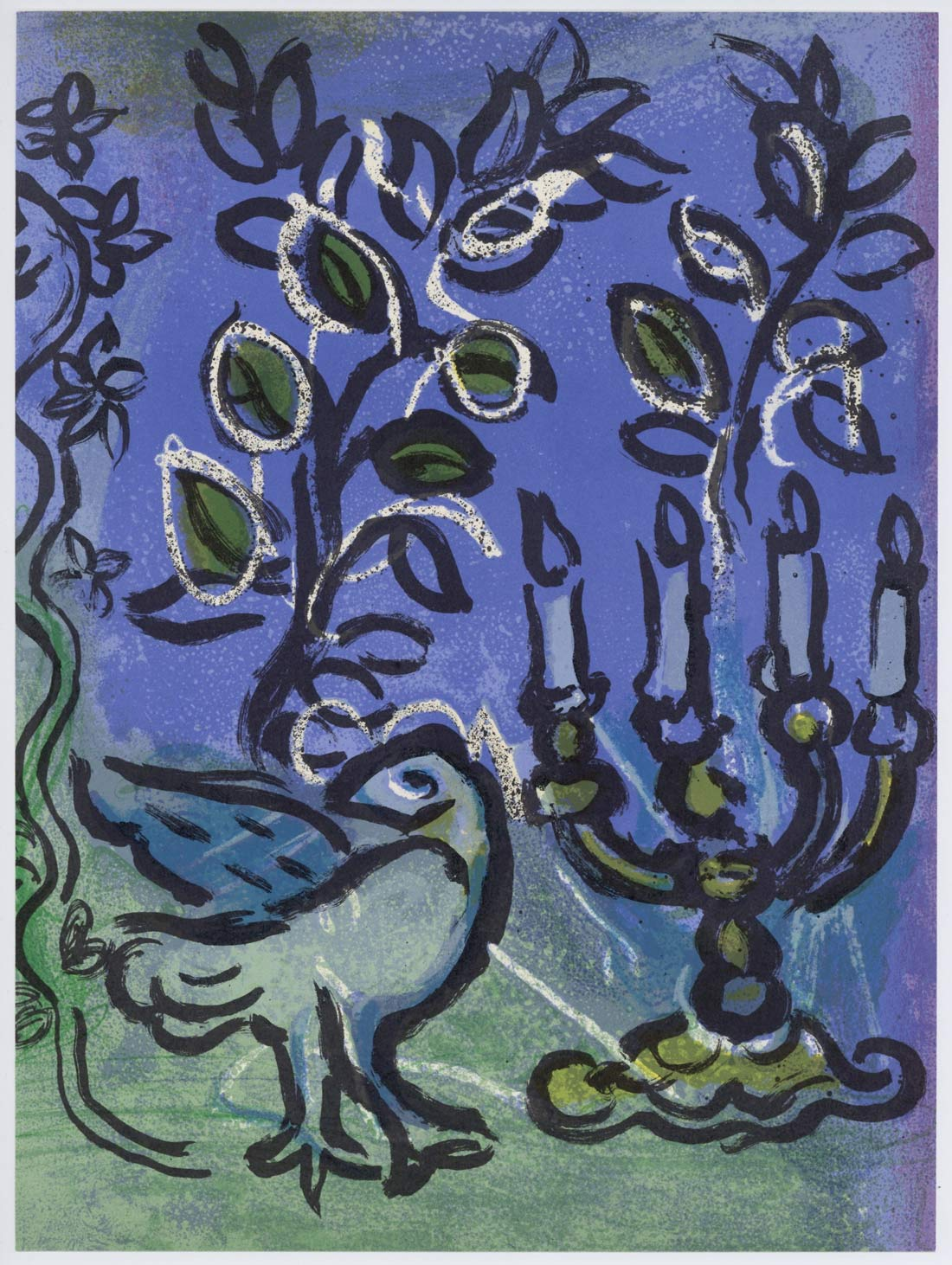 Le Chandelier Marc Chagall