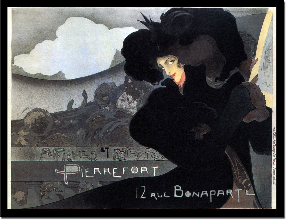 Pierrefort Bonaparte - Vintage Poster