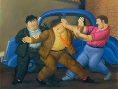 Abduction by Botero