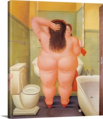 The Bath 1 by Botero
