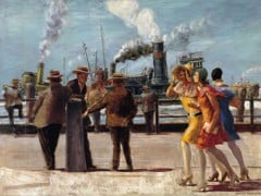 Battery Park by Reginald Marsh