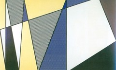 Imperfect Painting by Roy Lichtenstein
